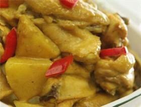 咖喱薯仔炆滑雞