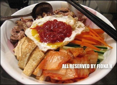 韓式涼拌飯