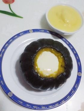 吉士南瓜燉蛋
